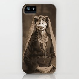 Lady Jar Jar iPhone Case