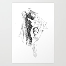 Everyday dance Art Print