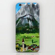Austria Tyrol Mountains iPhone & iPod Skin
