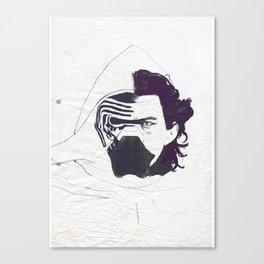 Ben Solo Awakened Canvas Print