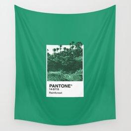 PANTONE SERIES – RAINFOREST Wall Tapestry