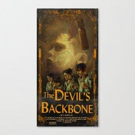 The Devils Backbone Canvas Print