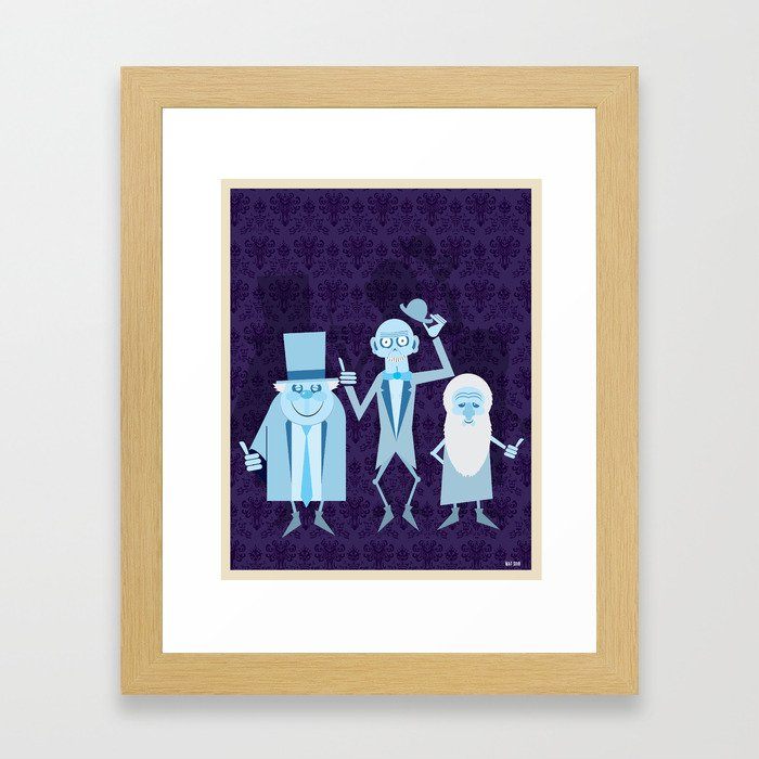 Hitchhicking Ghosts Framed Art Print