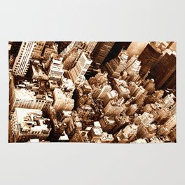 NYC - Big Apple from Empire  Rug