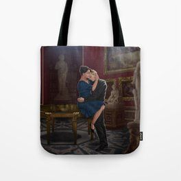 comfort before confession Tote Bag
