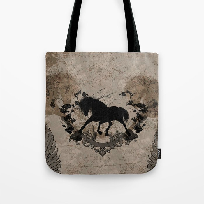 Horse silhouette Tote Bag
