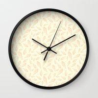 dessert Wall Clocks featuring Sweet Dessert by Favete Art