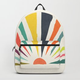 Rainbow ray Backpack