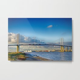 Queen Elizabeth ll Bridge 2 Metal Print