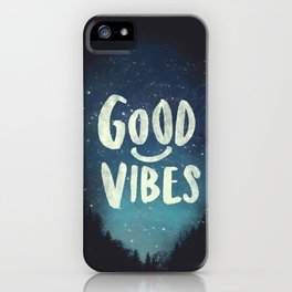 GOOD VIBES V.2 iPhone Case