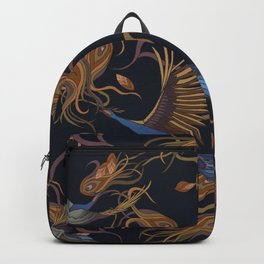 Peacock Romance Backpack