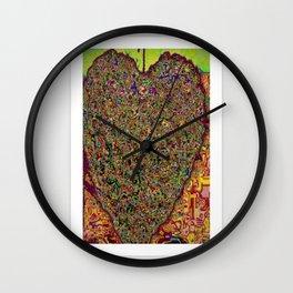 CYBER HEART Wall Clock