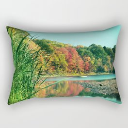 Changing Reflection Rectangular Pillow