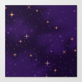Halloween Galaxy Canvas Print