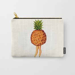 Pineapple Girl Carry-All Pouch
