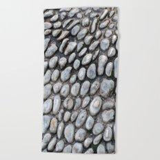 Stones texture #1 #decor #art #society6 Beach Towel