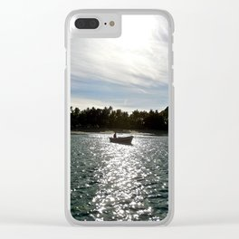 The Boat 1 Clear iPhone Case