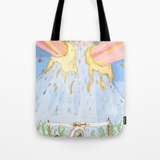 The Mountian. Tote Bag