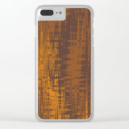 Fall Wavelenghts Clear iPhone Case