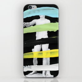 Untitled (Finger Paint 8) iPhone Skin