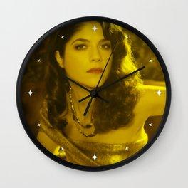 Selma Blair - Celebrity (Florescent Color Technique) Wall Clock