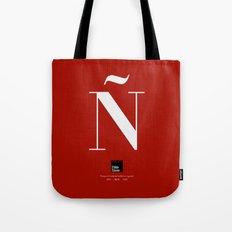 Ñ (Piece 03/08) Tote Bag