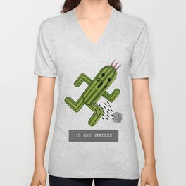 Final Fantasy - Cactuar Unisex V-Neck
