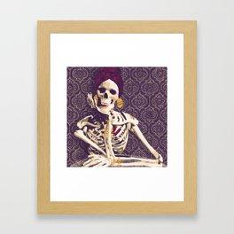 inner beauty is chic Framed Art Print