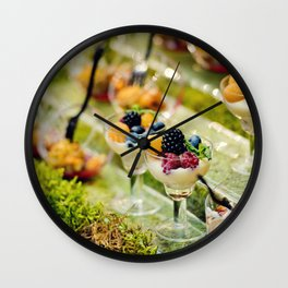 Cocktail Party Wall Clock