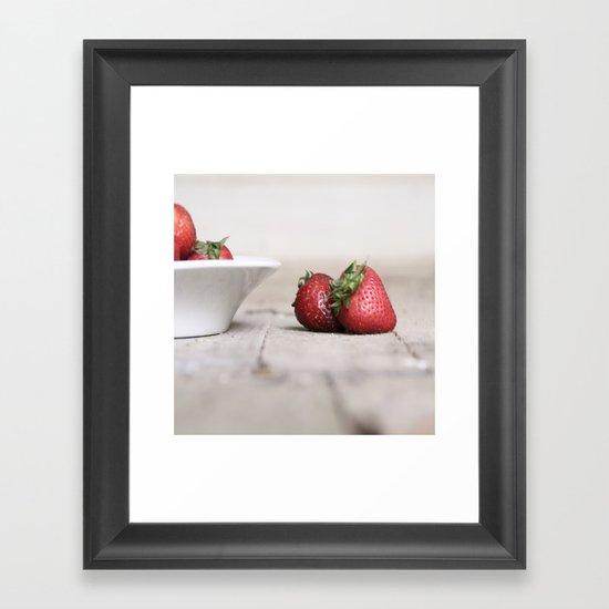 Flavor of the Summer Framed Art Print