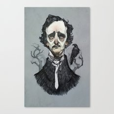 Mr. Poe  Canvas Print