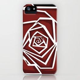 Vertigo Rose iPhone Case
