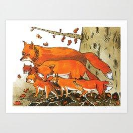 Noah's Ark - Fox Art Print