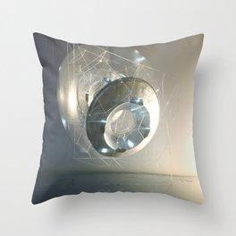 Polygonatic Throw Pillow