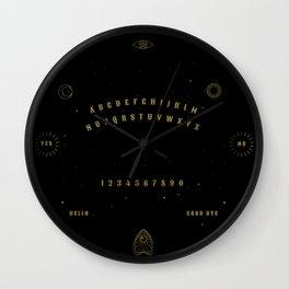 Witch Spirit Board Wall Clock