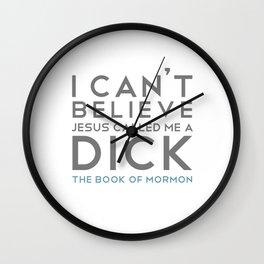 The Book of Mormon (A) Wall Clock