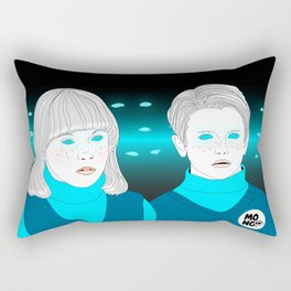 village of the damned Rectangular Pillow