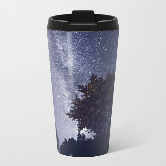 When you shine on me Metal Travel Mug