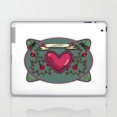 love  and heart Laptop & iPad Skin