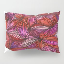 brightly blooming full Pillow Sham