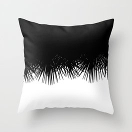 Fan Palm Throw Pillow