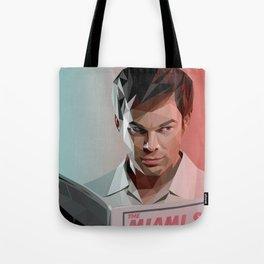 Low Poly Dexter Tote Bag