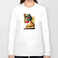kandinsky Long Sleeve T-shirts featuring THE GEOMETRIST by THE USUAL DESIGNERS