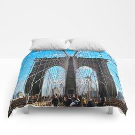 Bridge to Brooklyn Comforters