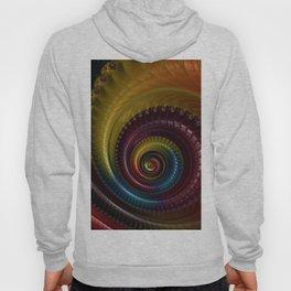 Jewel Silk Spiral Hoody