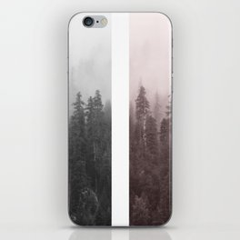 Piece of a forest iPhone Skin