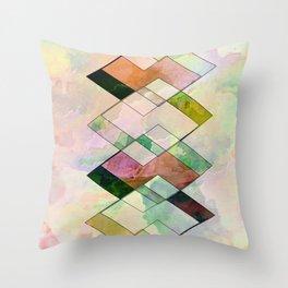 Watercolor design Throw Pillow