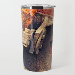 Old rusty iron piece Travel Mug