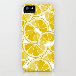 Sweet Lemon Slices iPhone Case