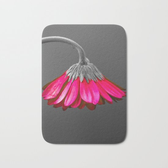 Flower | Flowers | Melancholia | Drooping Flower Bath Mat